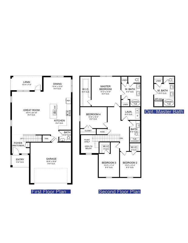 Floor Plans Photo #1