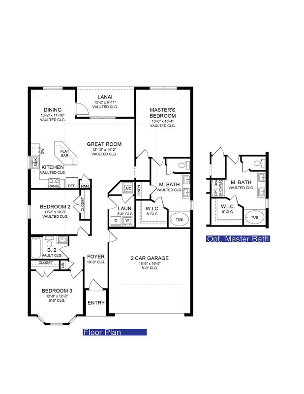 The 1512 Floor Plan Adams Homes