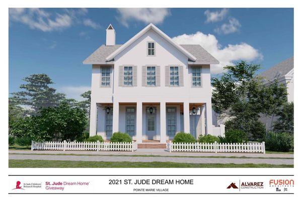 2021 St. Jude Dream Home by Alvarez Construction Company