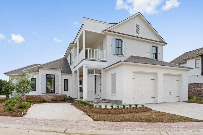 Exterior of 2018 St. Jude dream Home