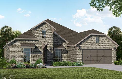 Plan 1688 Elevation B by American Legend Homes