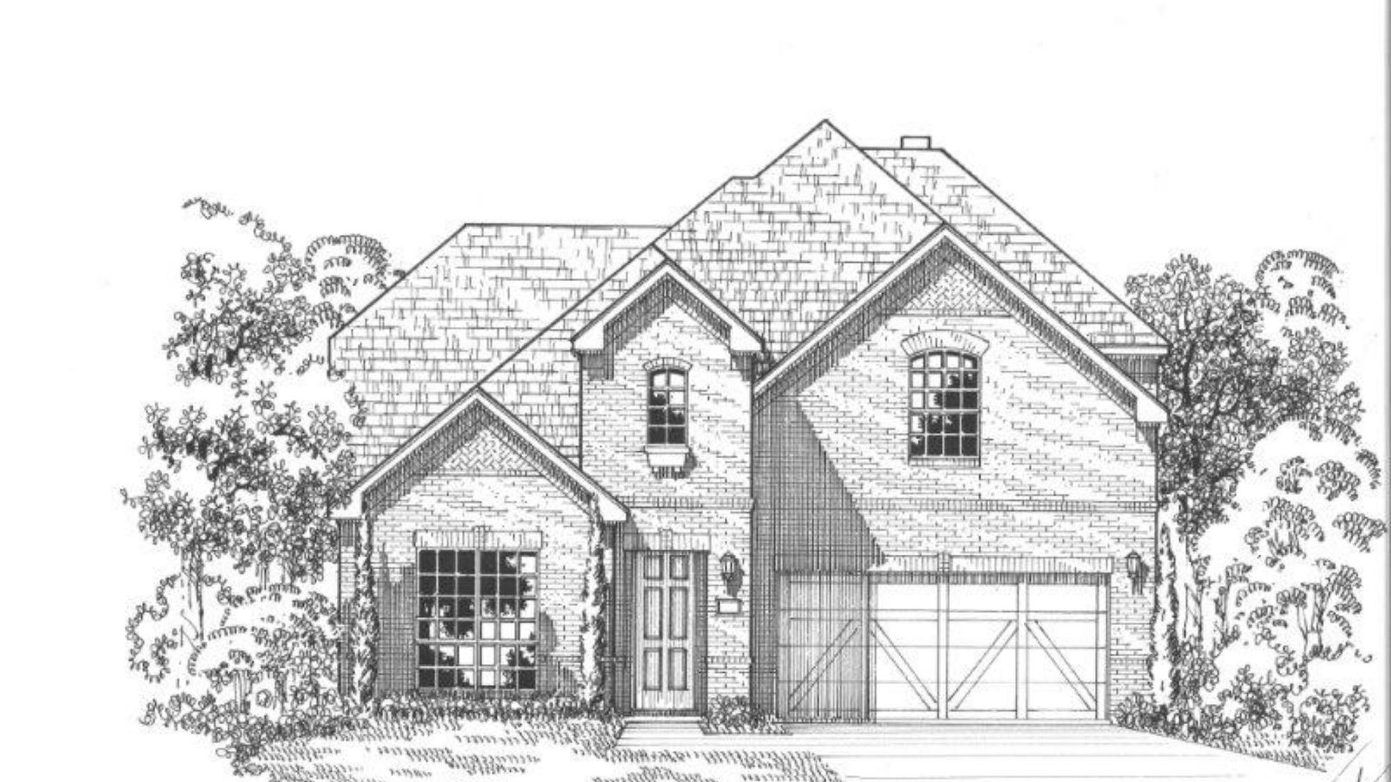 Plan 1125 Elevation A