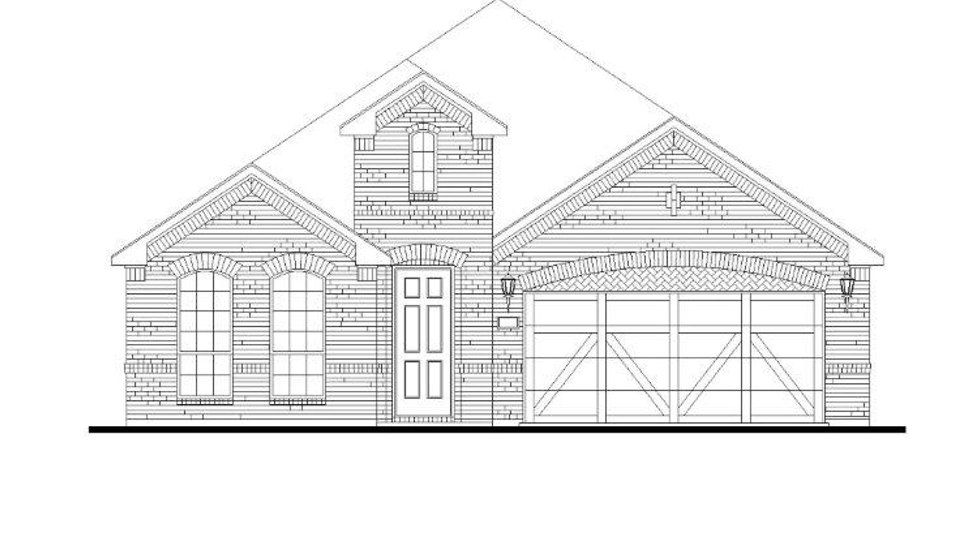 Plan 1519 Elevation A