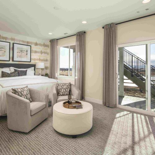 Plan C652 Bedroom Photo by American Legend Homes