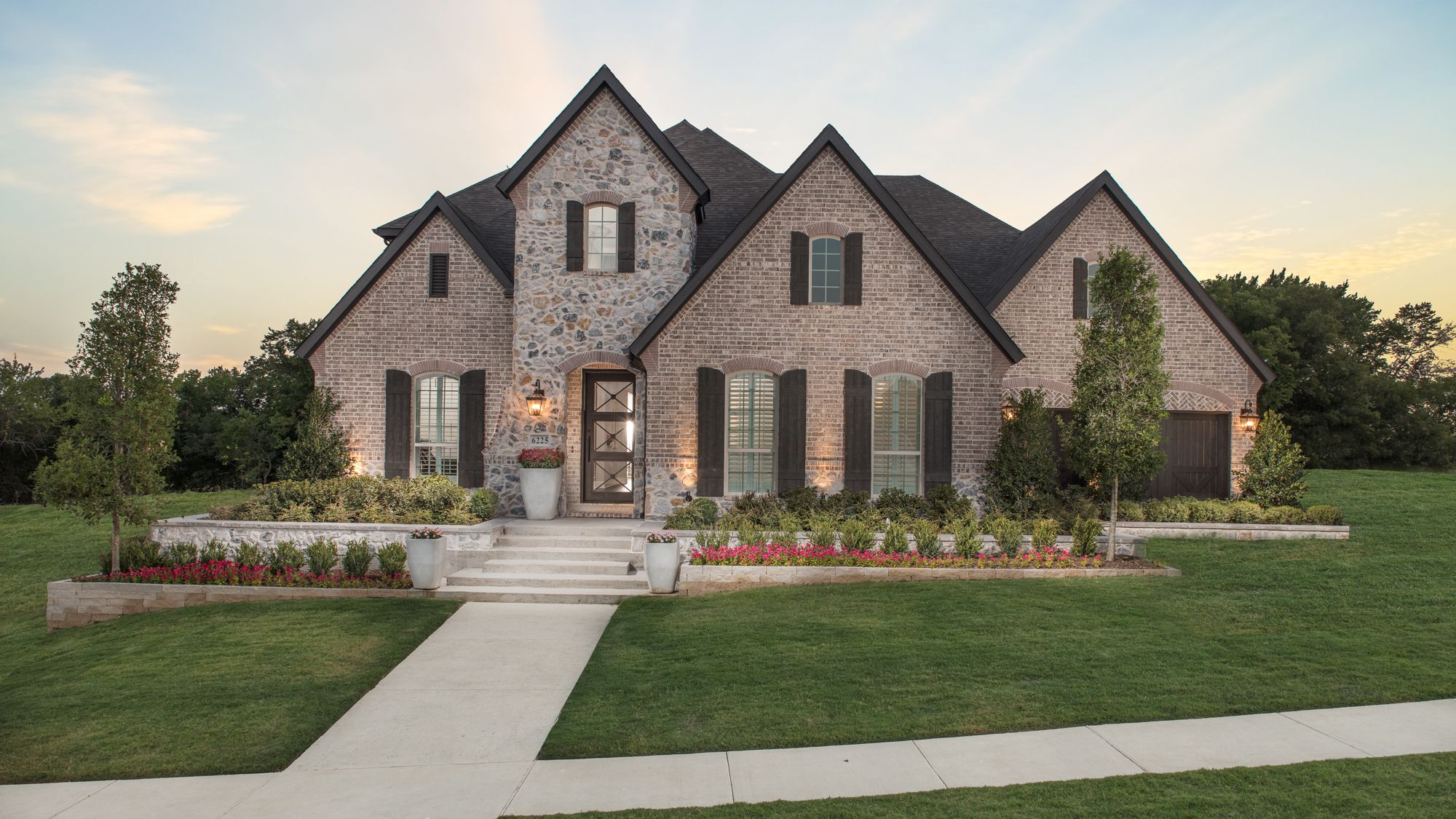 Emerald Heights Front Elevation by Belclaire Homes