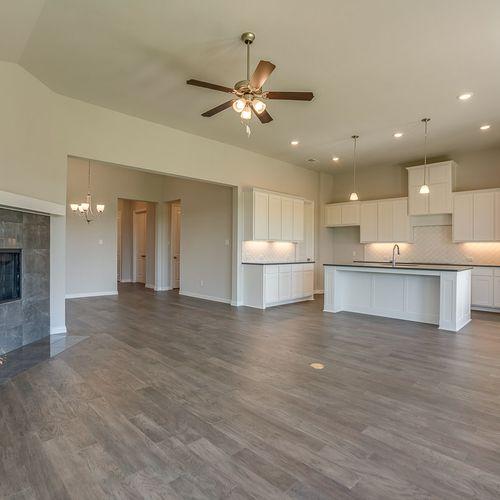 Plan 1688 Living Room/Kitchen Representative Image