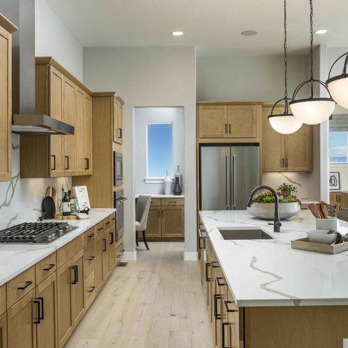 Plan C652 Kitchen Photo by American Legend Homes