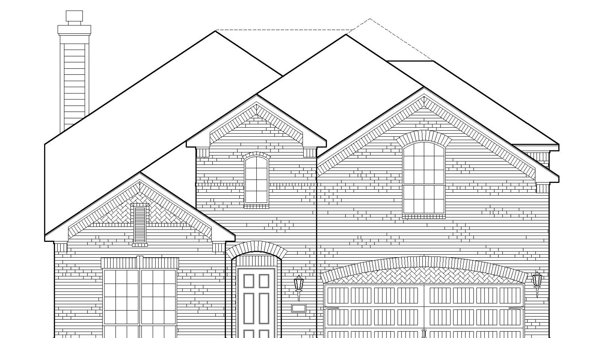 Plan 1126 Elevation A
