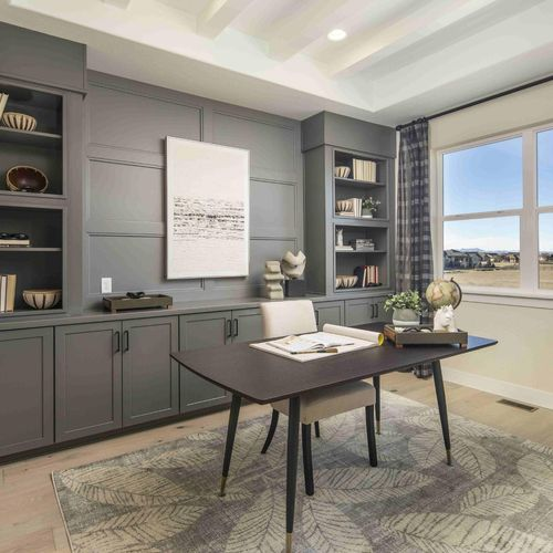 Plan C652 Home Office Photo by American Legend Homes