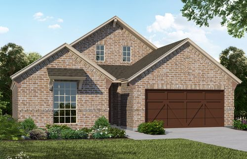 Plan 1530 Elevation B by American Legend Homes