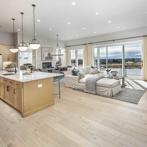 Plan C652 Kitchen/Dining/Living Photo by American Legend Homes