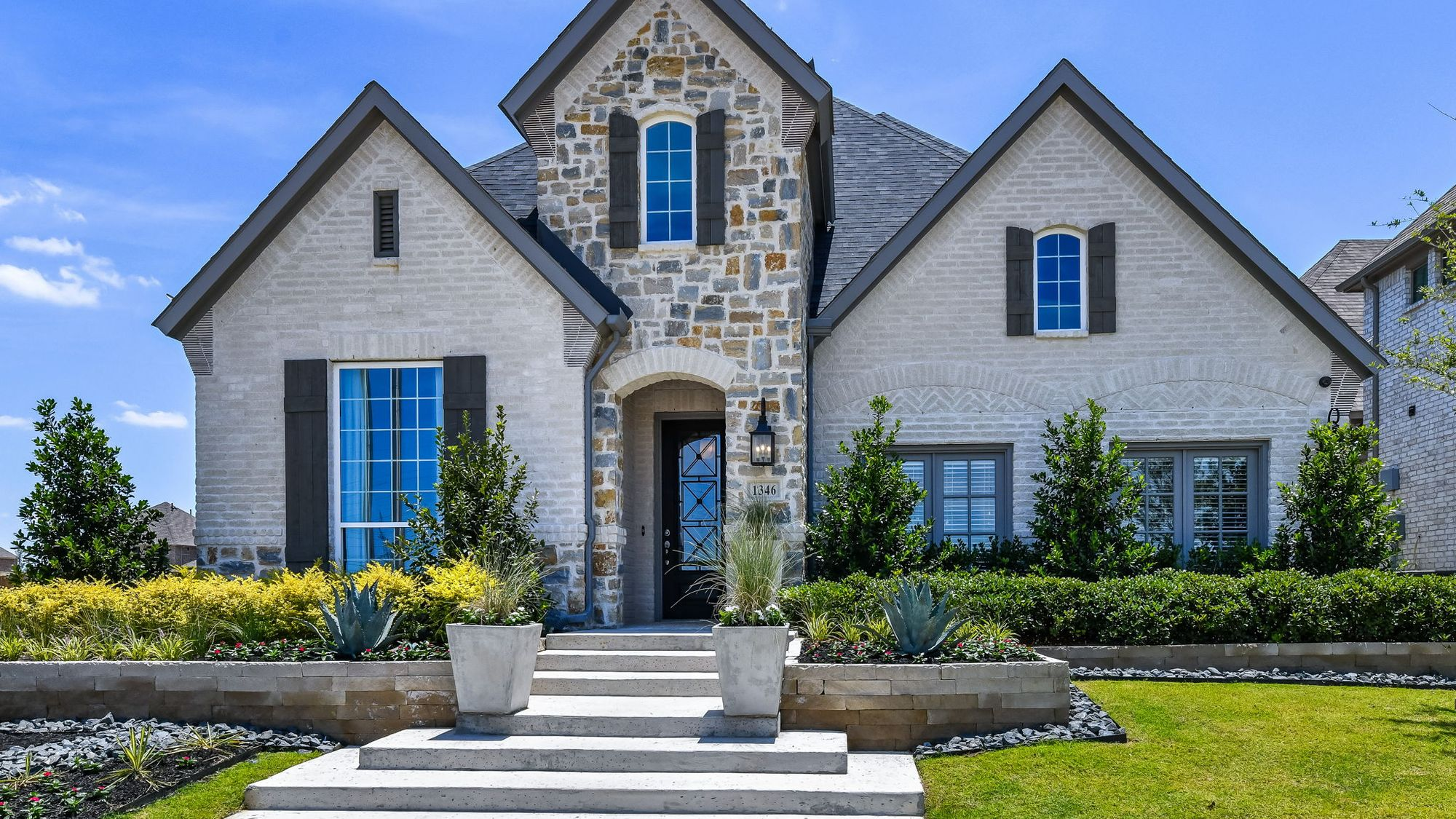 Plan 1118 Front Elevation Photo By American Legend Homes