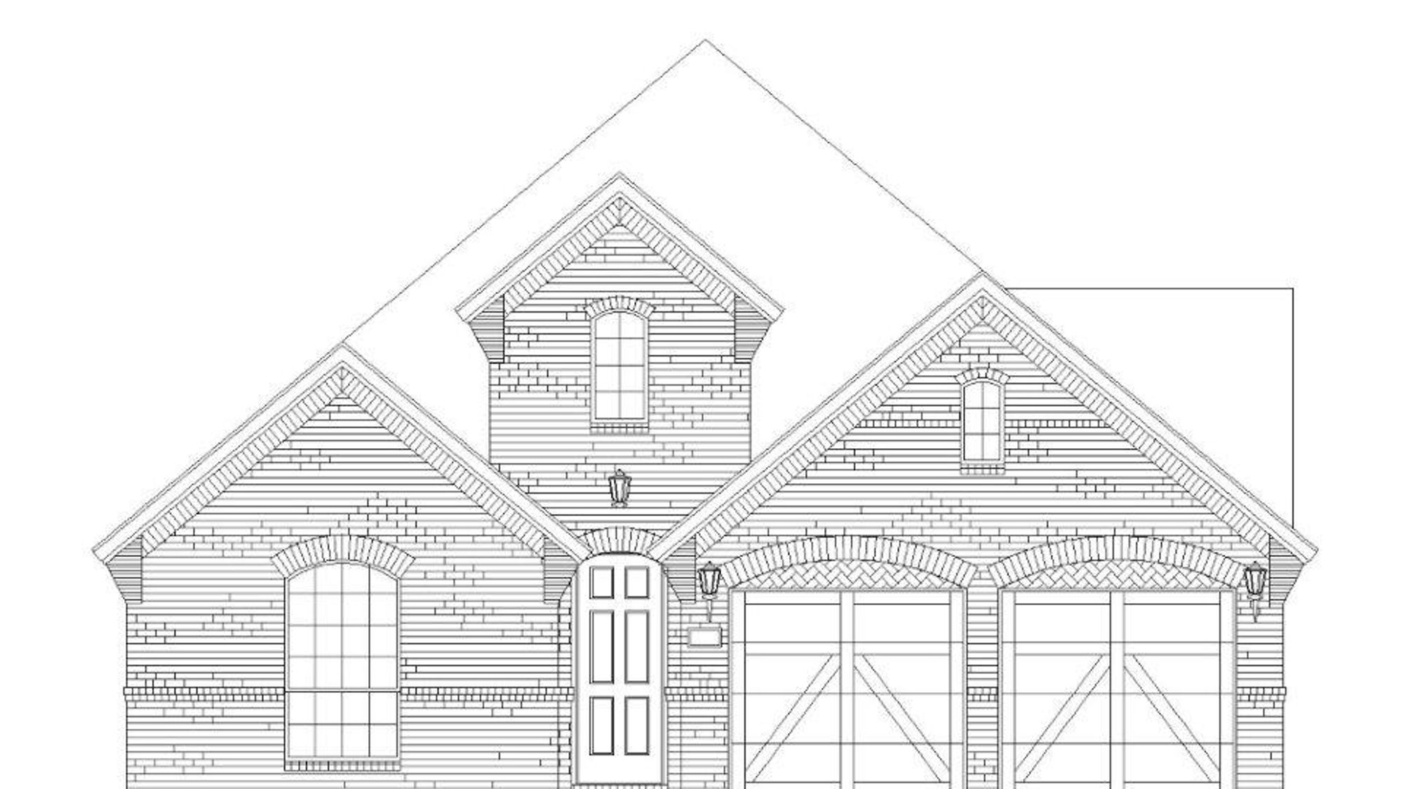 Plan 1139 Elevation A