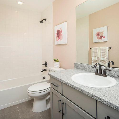 Plan V421 Secondary Bathroom Representative Image