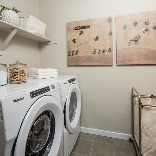 Plan V421 Laundry Room Representative Image