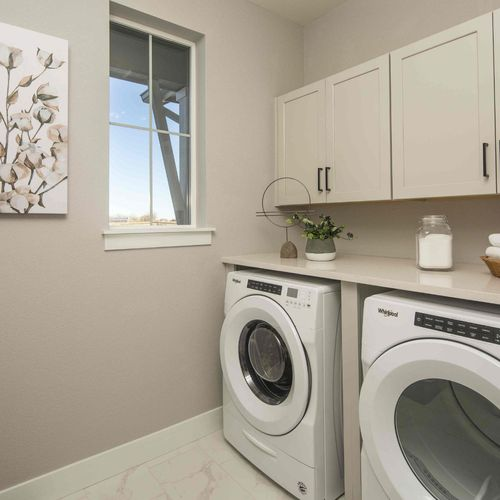Plan C652 Laundry Room Photo by American Legend Homes