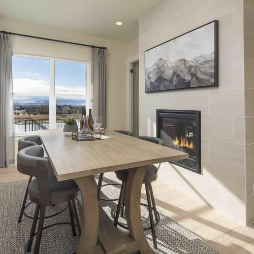 Plan C652 Dining Photo by American Legend Homes