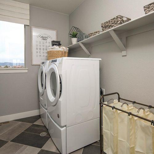 Plan C408 Laundry Room Representative Image