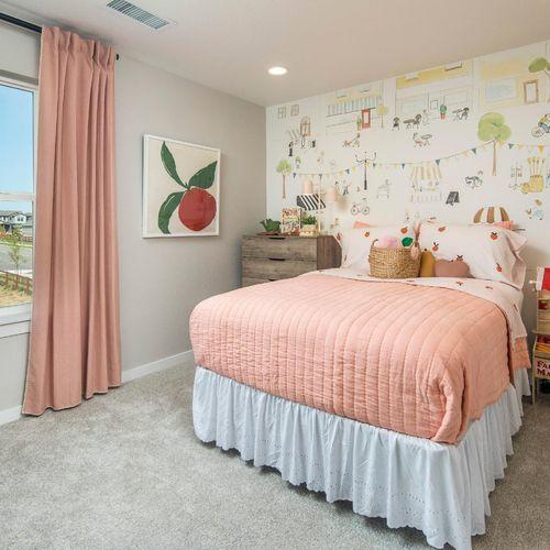 Plan V421 Bedroom Representative Image