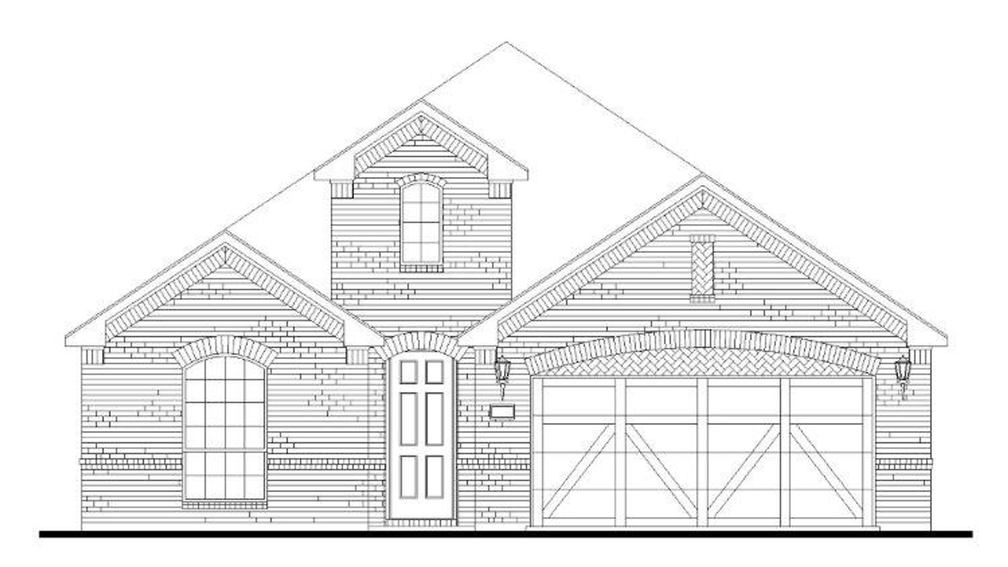 Plan 1520 Elevation A
