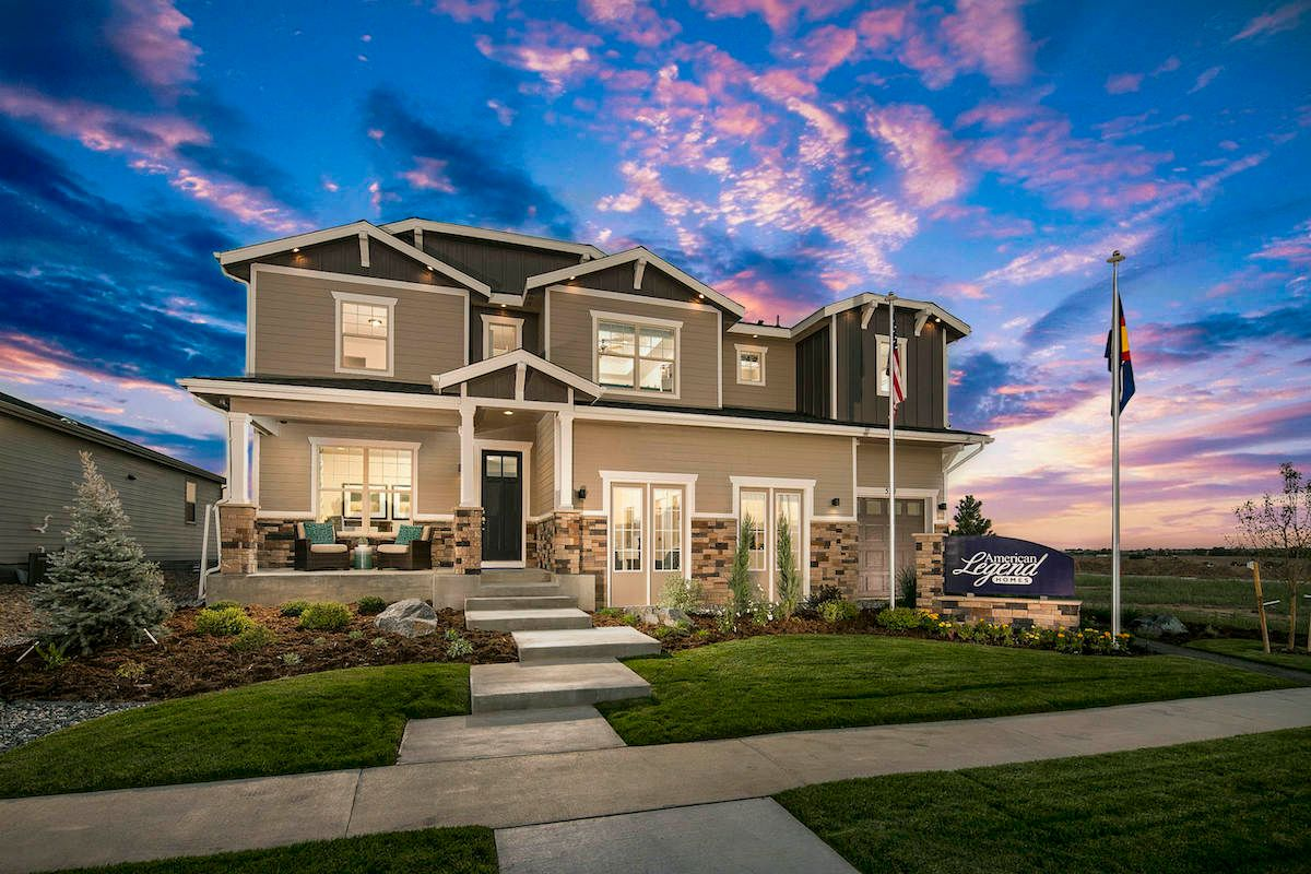Love at first sight: American Legend Homes Colorado