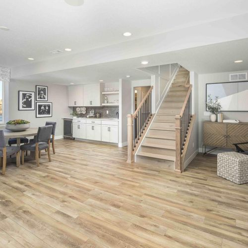 Plan C652 Finished Basement Photo by American Legend Homes
