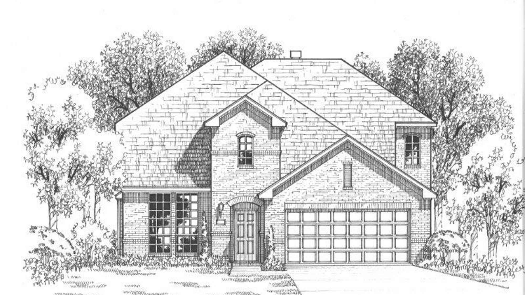 Plan 1117 Elevation A
