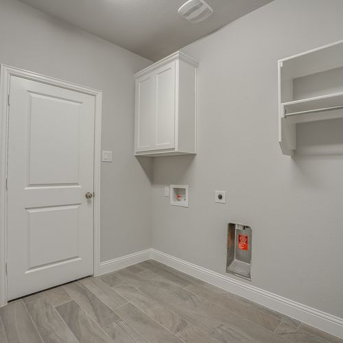 Plan 1602 Laundry Room Representative Photo