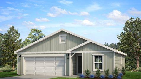Springfield 500A - Farmhouse Elevation - Example