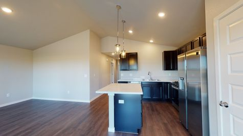 2921 Shady Oaks Dr. - Del Norte 501 - Kitchen & Dining View 2