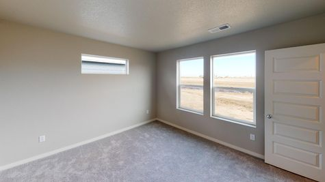 Springfield 500 - Master Bedroom View 3 - Example