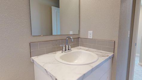 811 Westcliff - Main Bathroom Sink Detail - Example