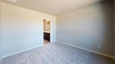 2921 Shady Oaks Dr. - Del Norte 501 - Master Bedroom View 1