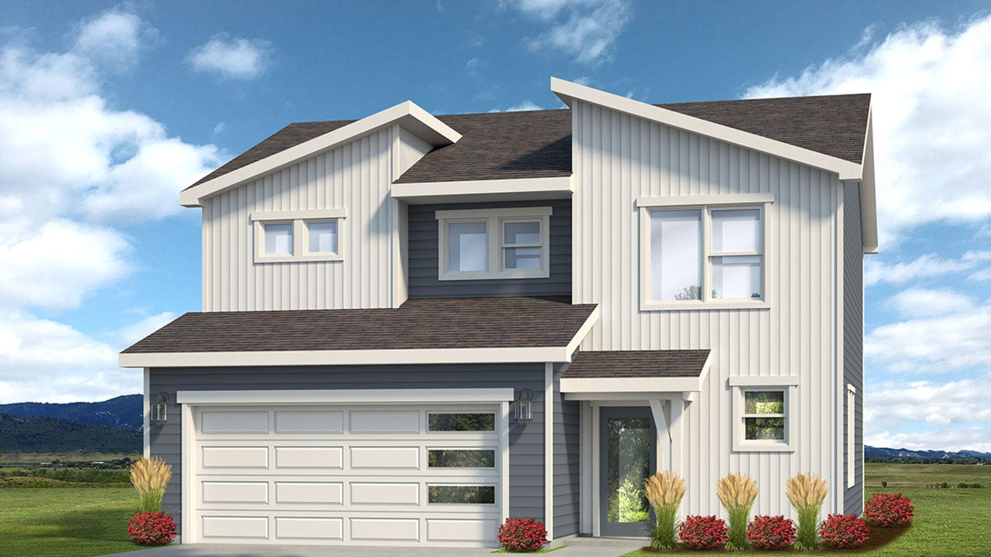 Weston 505C - Contemporary Elevation - Example