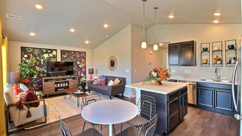 Del Norte 501 - Kitchen & Great Room View 2 - Example