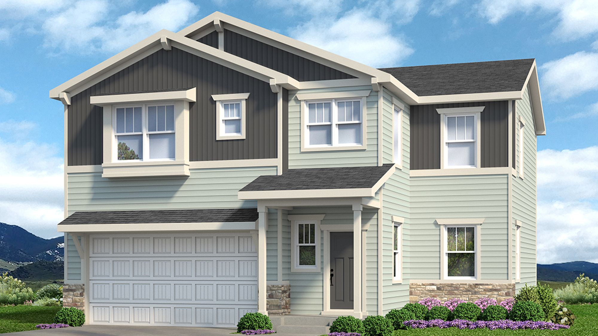 Welby 605B - Craftsman Elevation - Example