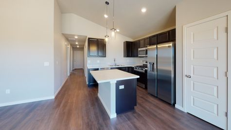 2921 Shady Oaks Dr. - Del Norte 501 - Kitchen & Dining View 1