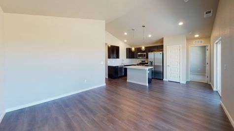 2921 Shady Oaks Dr. - Del Norte 501 - Great Room View 2