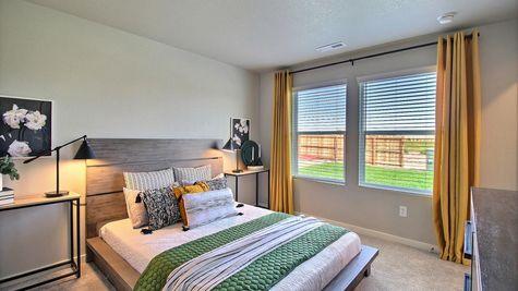 Del Norte 501 - Master Bedroom View 2 - Example