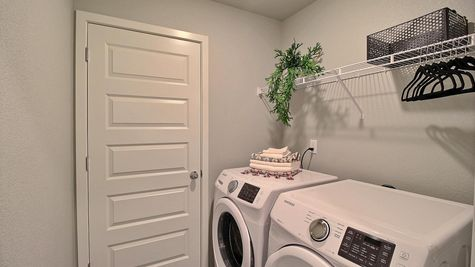 Del Norte 501 - Laundry Room - Example
