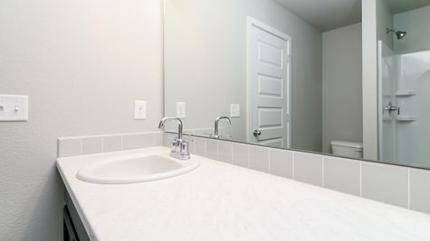 Springfield 500 - Master Bath View 2 - Example