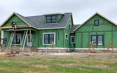 Model Home Construction Photo