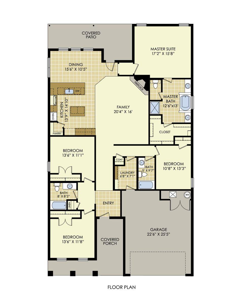 Sophia Floor Plan In Windstone At Upland