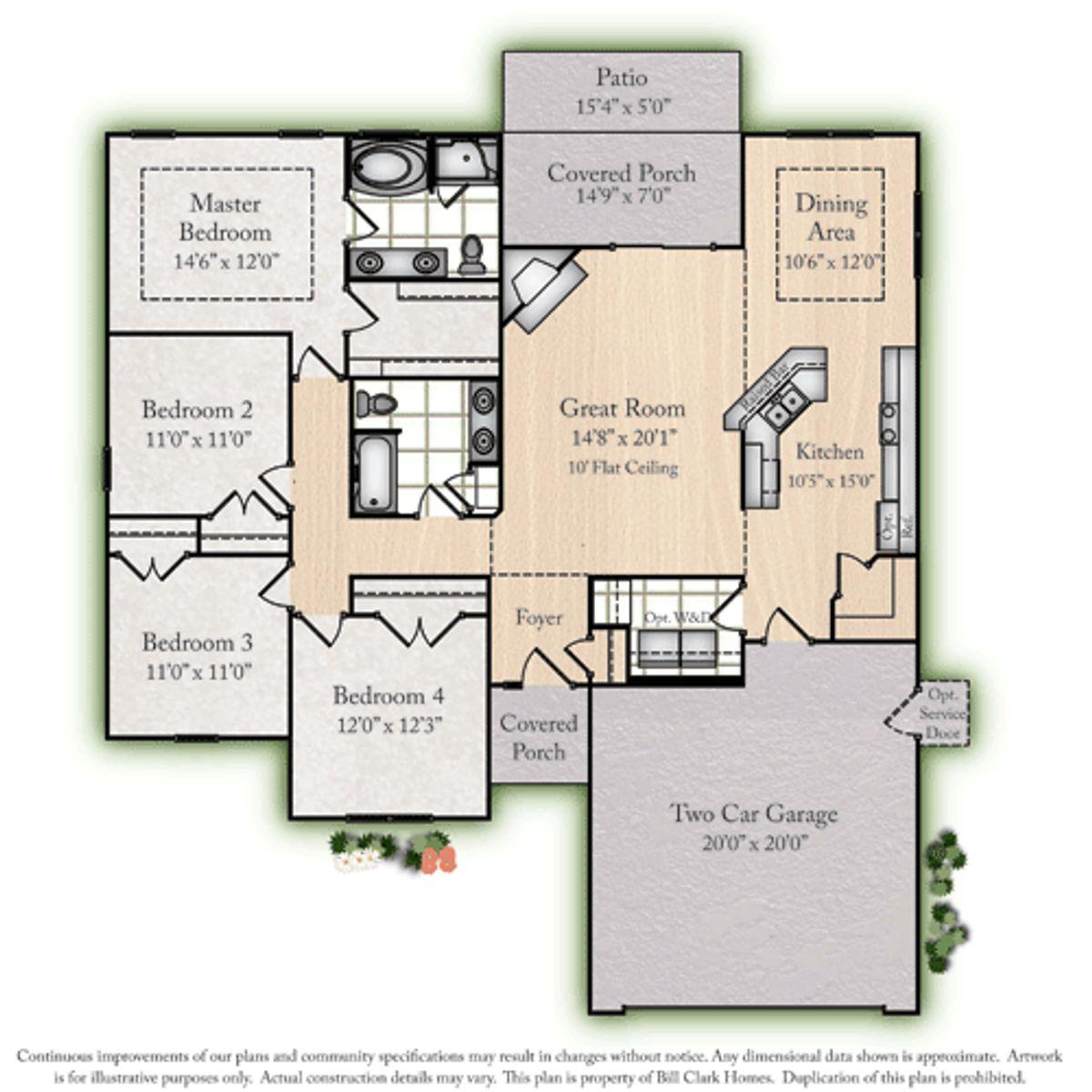 AHS2 Ivy Floorplan