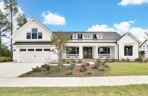 Ranch-style home by Salter's Haven builders, Bill Clark