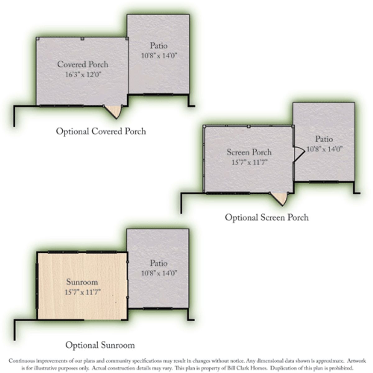 The Jackson Springs at Arbor Hills South II Options