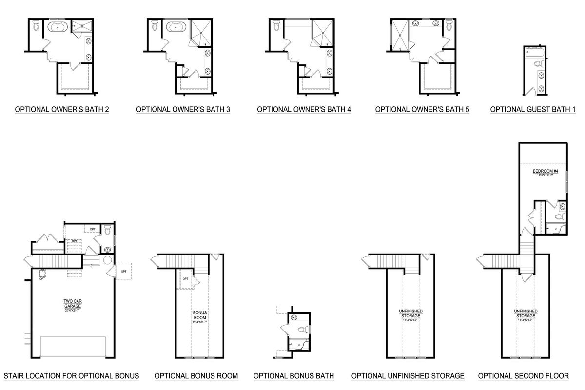 Floor Plans & Options