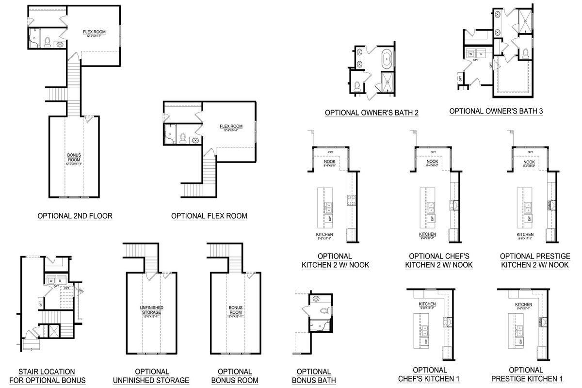 Floor Plans & Options