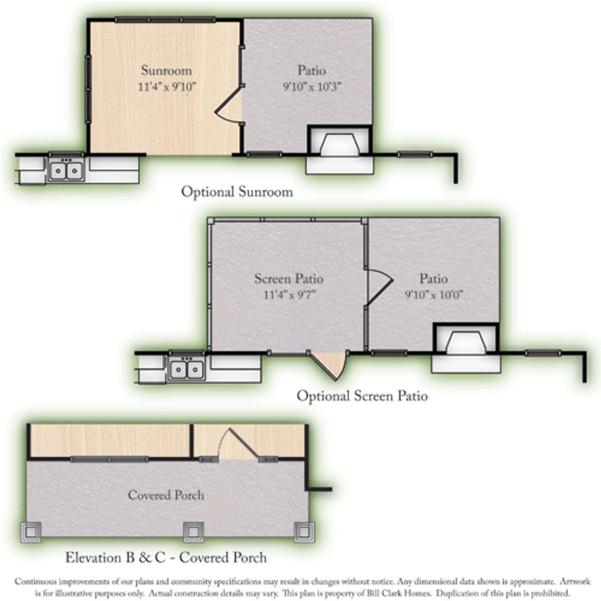The Dunley in Sagewood & Laurel Oaks Options