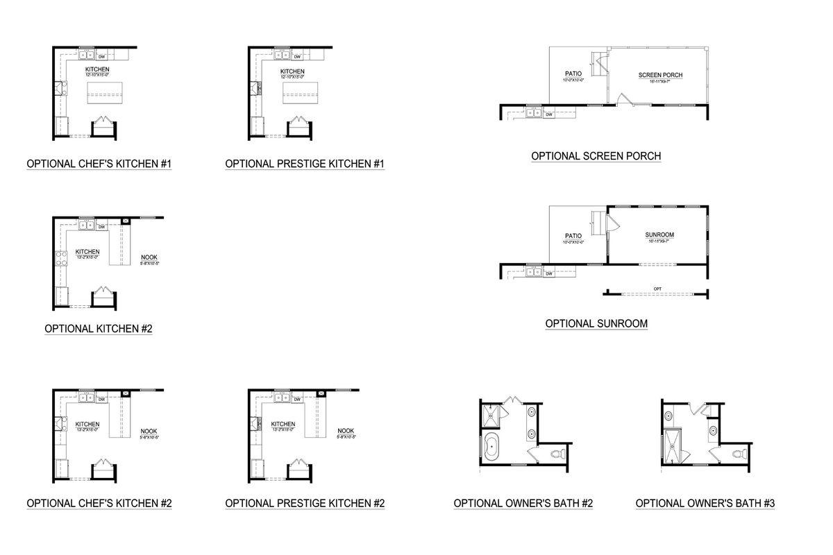 New Haven Floor Plan & Options
